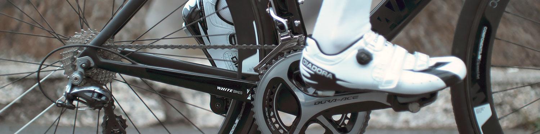 Pyöräilykengät ja varusteet