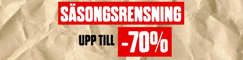 Upp till -70%